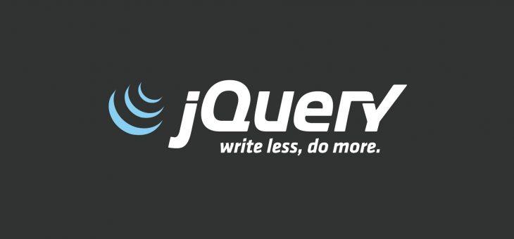 Web前端开发 – jQuery的使用